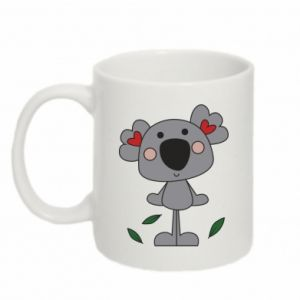 Kubek 330ml Koala with hearts