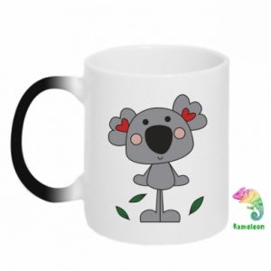 Kubek-magiczny Koala with hearts
