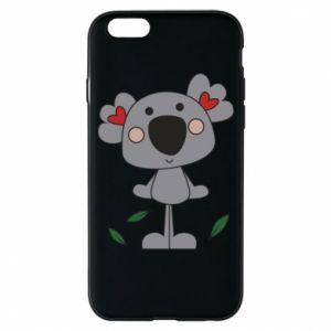 Etui na iPhone 6/6S Koala with hearts