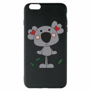 Etui na iPhone 6 Plus/6S Plus Koala with hearts