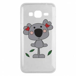 Etui na Samsung J3 2016 Koala with hearts