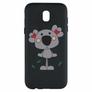 Etui na Samsung J5 2017 Koala with hearts