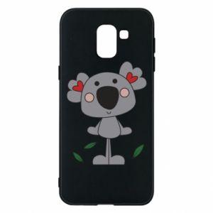 Etui na Samsung J6 Koala with hearts