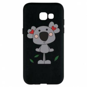 Etui na Samsung A5 2017 Koala with hearts