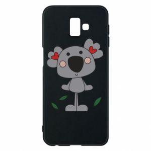 Etui na Samsung J6 Plus 2018 Koala with hearts