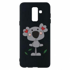 Etui na Samsung A6+ 2018 Koala with hearts