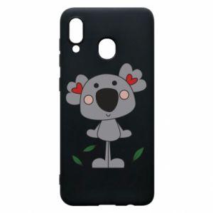 Etui na Samsung A30 Koala with hearts