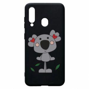 Etui na Samsung A60 Koala with hearts
