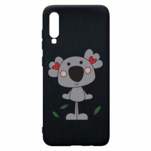 Etui na Samsung A70 Koala with hearts