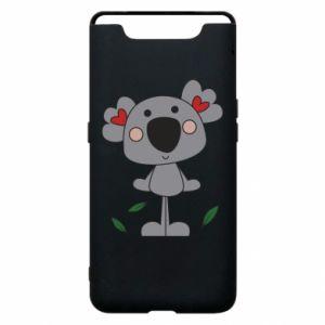 Etui na Samsung A80 Koala with hearts