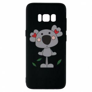 Etui na Samsung S8 Koala with hearts