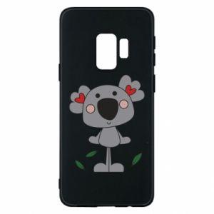 Etui na Samsung S9 Koala with hearts