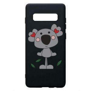 Etui na Samsung S10+ Koala with hearts