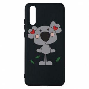 Etui na Huawei P20 Koala with hearts