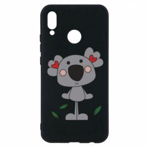 Etui na Huawei P20 Lite Koala with hearts