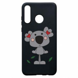 Etui na Huawei P30 Lite Koala with hearts