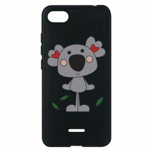 Etui na Xiaomi Redmi 6A Koala with hearts