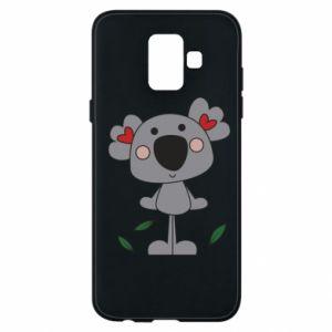Etui na Samsung A6 2018 Koala with hearts