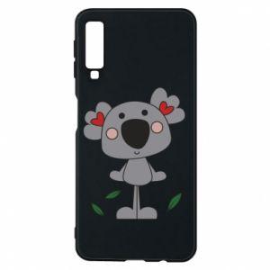 Etui na Samsung A7 2018 Koala with hearts