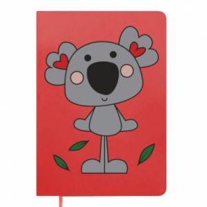 Notes Koala with hearts