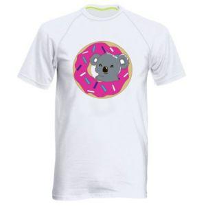 Męska koszulka sportowa Koala