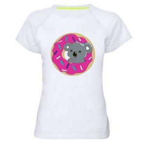 Damska koszulka sportowa Koala