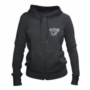Women's zip up hoodies Koala