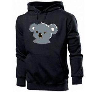 Męska bluza z kapturem Koala - PrintSalon