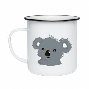 Enameled mug Koala