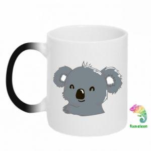 Kubek-kameleon Koala - PrintSalon