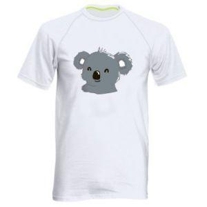 Męska koszulka sportowa Koala - PrintSalon