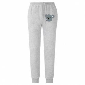Męskie spodnie lekkie Koala - PrintSalon