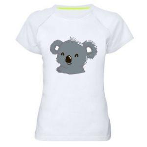 Damska koszulka sportowa Koala - PrintSalon