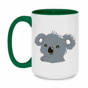 Two-toned mug 450ml Koala
