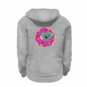Kid's zipped hoodie Koala