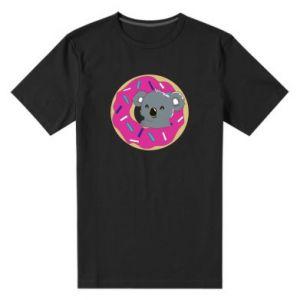 Męska premium koszulka Koala - PrintSalon