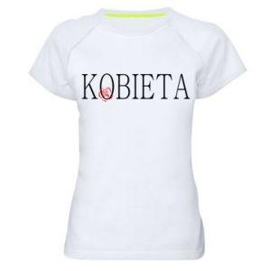 Koszulka sportowa damska Kobieta