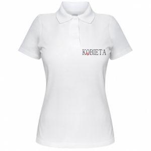 Koszulka polo damska Kobieta