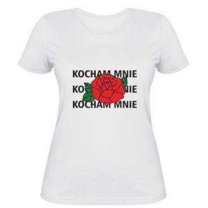 Damska koszulka Kochaj mnie