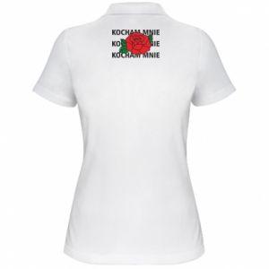 Damska koszulka polo Kochaj mnie