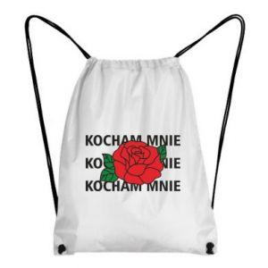 Plecak-worek Kochaj mnie
