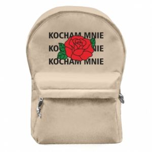 Plecak z przednią kieszenią Kochaj mnie