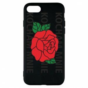 Etui na iPhone 8 Kochaj mnie
