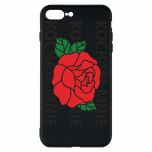 Etui na iPhone 8 Plus Kochaj mnie