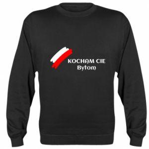 Bluza (raglan) Kocham cię Bytom