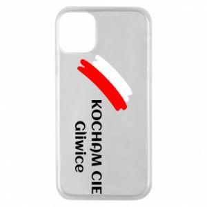 Etui na iPhone 11 Pro Kocham cię Gliwice