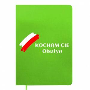 Notepad Kocham cię Olsztyn