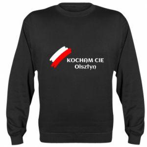 Bluza (raglan) Kocham cię Olsztyn