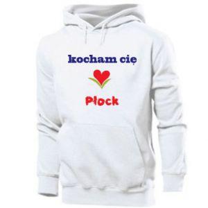 Men's hoodie I love you Plock