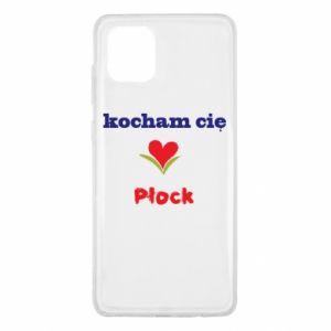 Samsung Note 10 Lite Case I love you Plock